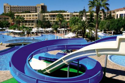 Waterslide At The Hemera Resort And Spa
