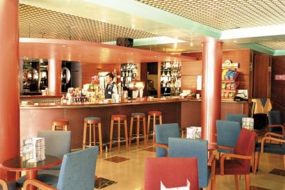 Bar Area At The Hotel Benidorm Plaza