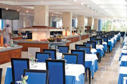 Buffet Restaurant At The Hotel Platja d'Or